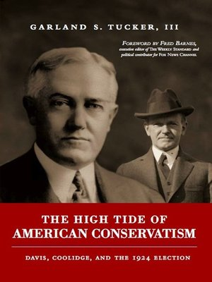 cover image of High Tide of American Conservatism