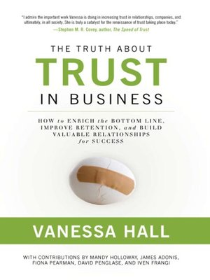 cover image of The Truth About Trust in Business