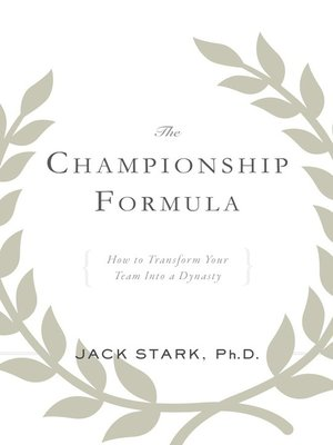 cover image of The Championship Formula