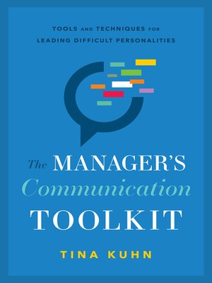 cover image of The Manager's Communication Toolkit