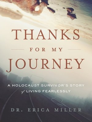 cover image of Thanks for My Journey