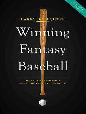 cover image of Winning Fantasy Baseball