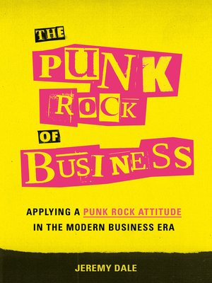 cover image of The Punk Rock of Business