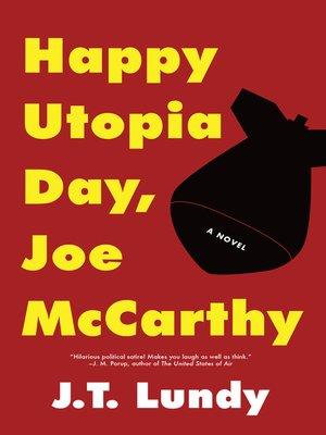 cover image of Happy Utopia Day, Joe McCarthy