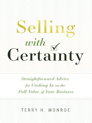 cover image of Selling with Certainty
