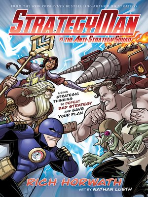 cover image of StrategyMan vs. the Anti-Strategy Squad