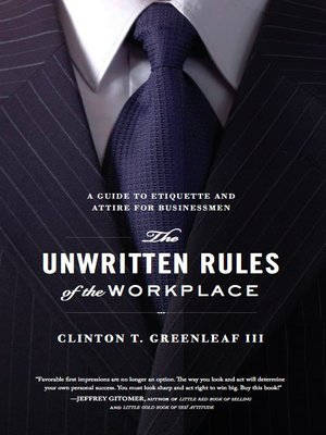 cover image of The Unwritten Rules of the Workplace