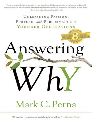 cover image of Answering Why