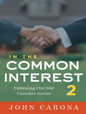 cover image of In the Common Interest 2