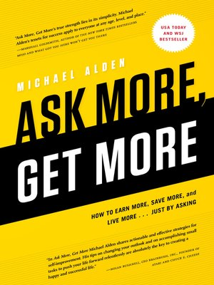 cover image of Ask More, Get More
