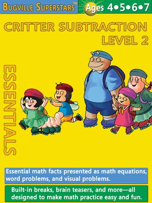 cover image of Critter Subtraction Essentials Level 2