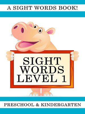 cover image of Sight Words Level 1