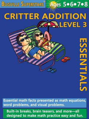 cover image of Critter Addition Essentials Level 3