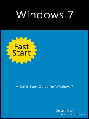 cover image of Windows 7 Fast Start