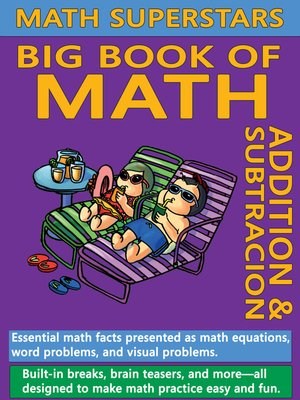 cover image of Math Superstars Big Book of Math
