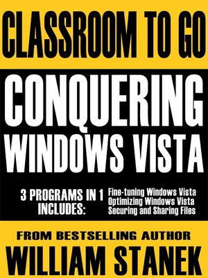 cover image of Conquering Windows Vista
