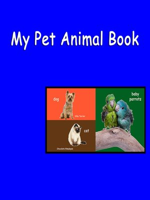cover image of My Pet Animal Book