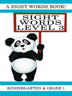 cover image of Sight Words Level 3