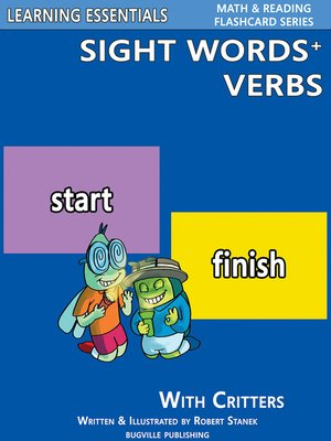 cover image of Sight Words Plus Verbs
