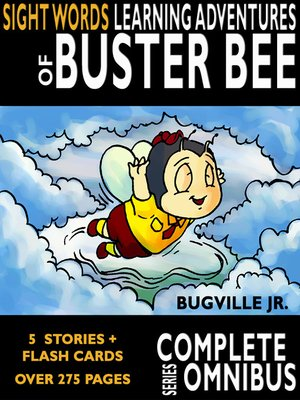 cover image of Complete Sight Words Learning Adventures of Buster Bee