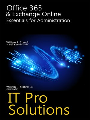 cover image of Office 365 & Exchange Online: Essentials for Administration
