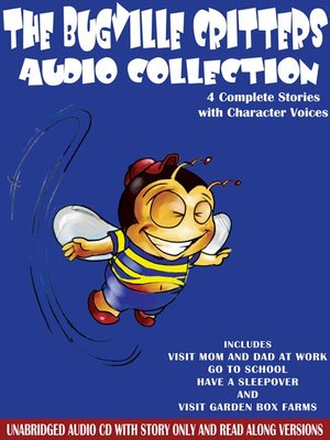 cover image of The Bugville Critters Audio Collection, Volume 1