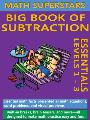 cover image of Math Superstars Big Book of Subtraction