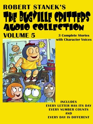 cover image of The Bugville Critters Audio Collection, Volume 5