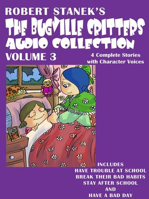 cover image of The Bugville Critters Audio Collection, Volume 3