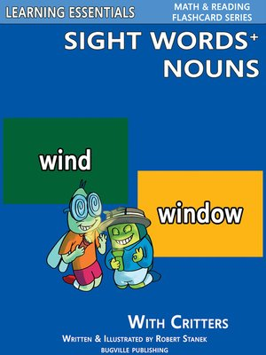cover image of Sight Words Plus Nouns