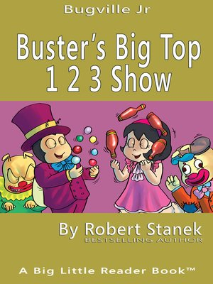 cover image of Buster's Big Top 1 2 3 Show
