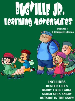 cover image of Bugville Jr. Learning Adventures Collection #1