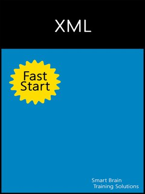 cover image of XML Fast Start