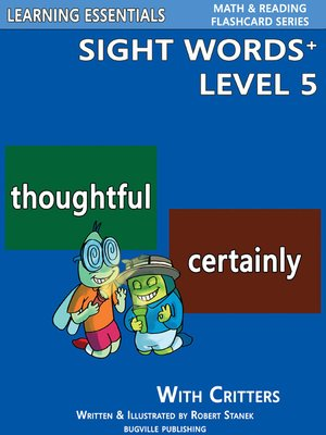 cover image of Sight Words Plus Level 5