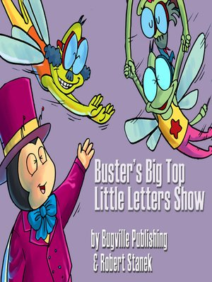 cover image of Buster's Big Top Little Letters Show