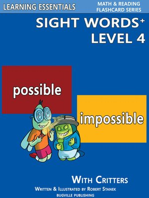 cover image of Sight Words Plus Level 4