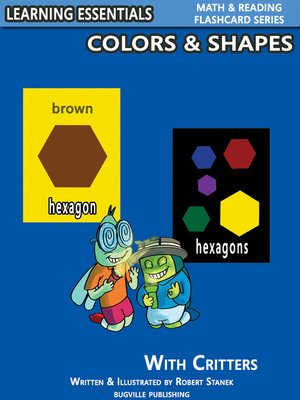 cover image of Colors & Shapes Flash Cards