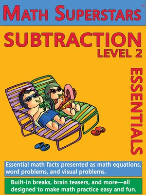cover image of Math Superstars Subtraction Level 2