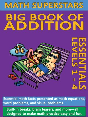 cover image of Math Superstars Big Book of Addition