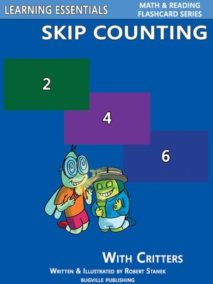 cover image of Skip Counting by 2, 3, 4, 5, 6, 7, 8, 9, and 10