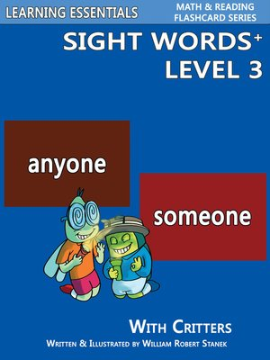 cover image of Sight Words Plus Level 3
