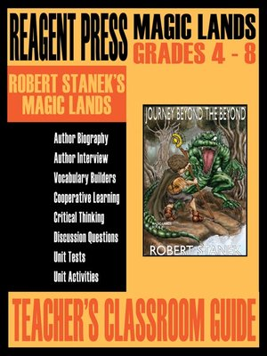 cover image of Teacher's Classroom Guide to Robert Stanek's Magic Lands