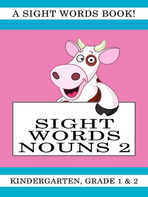 cover image of Sight Words Nouns 2