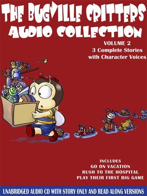 cover image of The Bugville Critters Audio Collection, Volume 2