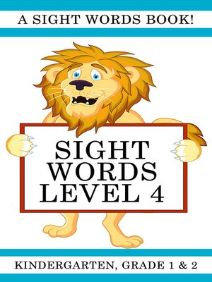 cover image of Sight Words Level 4