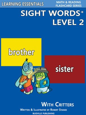 cover image of Sight Words Plus Level 2