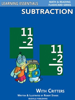 cover image of Subtraction Flashcards
