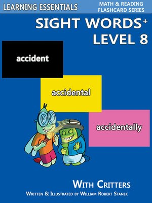 cover image of Sight Words Plus Level 8