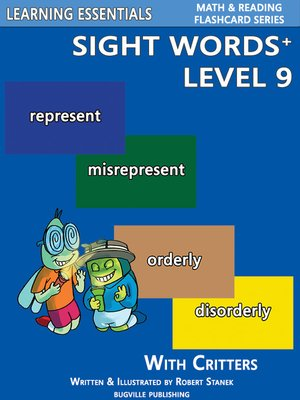 cover image of Sight Words Plus Level 9