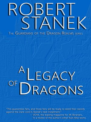 cover image of A Legacy of Dragons